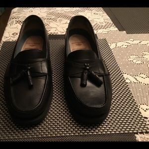 Dockers black loafers